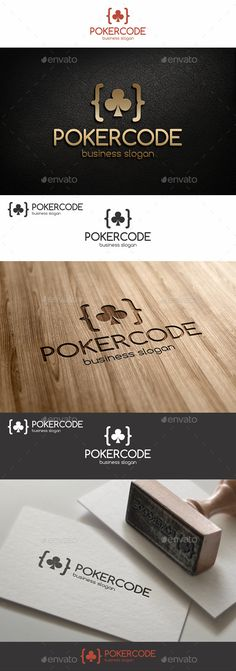 Poker Code Logo – Excellent logo in vector format for poker business, online poker games, online poker website, poker software, web developers, poker blogs, poker secrets, betting websites, poker support, poker service, for poker expert ; highly suitable for Casino, Card, Game, Website and many other businesses