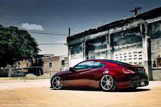 Hyundai Genesis Coupe on Shiny Work Varianza T1S wheels