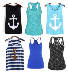 """""""Tank Tops"""" by samantha-smith-mcvety ❤ liked on Polyvore featuring maurices"""