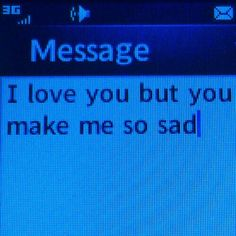 "dark-glimmer: ""Please don't make me sad. """