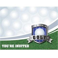 Golf Invitations | 8ct