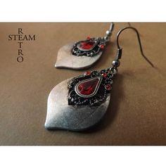 Tears Princess Teardrop Earrings Gothic Earrings Gothic Jewelry Steamretro