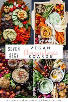 Vegetarian Charcuterie Boards – Wine Wednesday