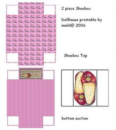 ME Stuff Mini Printables - Phafan Kormanee - Picasa Web Albums Paper Doll House, Paper Dolls, Dollhouse Shoes, Dollhouse Miniatures, Dollhouse Ideas, Printable Labels, Printables, Doll Crafts, Paper Crafts