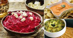 Dips de vegetales: una colorida y saludable opción para los niños