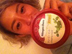Häagen-Dazs-creamy mint-