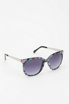 3466315d900 Industrial Floral Sunglasses  urbanoutfitters Discount Sunglasses