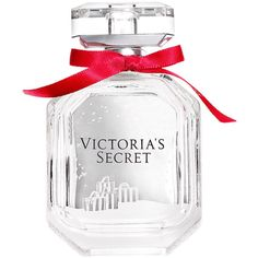 Victoria's Secret Winter Bombshell Perfume found on Polyvore featuring beauty products, fragrance, perfume, victoria's secret, perfume fragrances, victoria secret fragrances, floral perfumes and fruity perfumes
