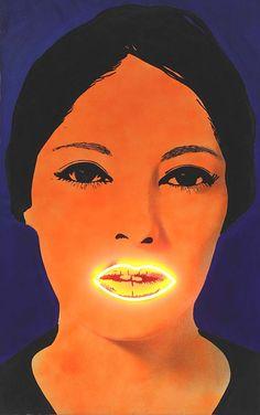 """Elaine Sturtevant, """"Peinture à Haute Tension"""" (1969)"""