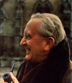 """Tolkien with Pipe -- """"Above all shadows rides the sun."""""""