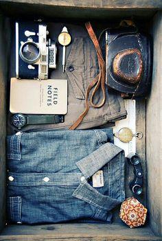 o que vai na sua mala? JEANS