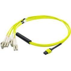 AddOn Fiber Optic Duplex Network Cable #ADD-MPO-4LC2M5OM4