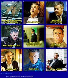 My favorite character from this show.and Sherlock.and John. Johnlock, Sherlock Holmes Bbc, Sherlock Fandom, Sherlock Quotes, Watson Sherlock, Jim Moriarty, Sherlock John, Martin Freeman, Hunger Games