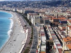 Nice, France... a place that I have not yet been to but am anxious to visit!