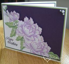 Altenew Birthday in Purples by darbaby - Cards and Paper Crafts at Splitcoaststampers Altenew Cards, Laptop, Electronics, Laptops