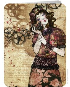 Mechanic Of My Heart by Minasmoke - Santoro's Eclectic Cards