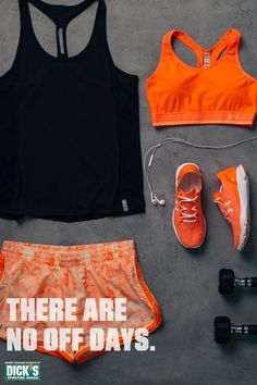 Push past your limits during your next workout with the Under Armour Fly By Mesh Tank Top, Great Escape Printed Shorts and the Speedform Apollo Vent running shoe. Fitness, fitness inspiration #healthy #fit #happy
