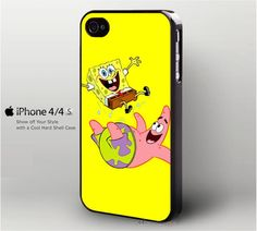 FUNNY SPONGEBOB AND PATRICK IPHONE 4/4S CASE – MerchandisePrint