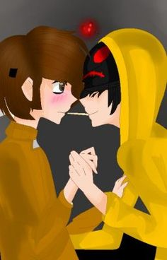 #wattpad #fanfiction This is a love story between Maskt and hoodie (Though they are brothers. Don't hate me for incest) This is one of the most common ships in creepy pasta.