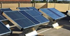 New Source solar panels pull clean drinking water from the air