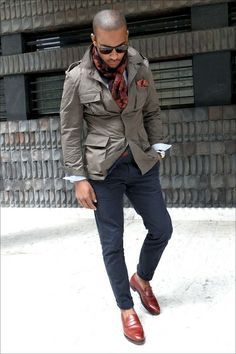 """Nice, but would have substituted the loafers with brogues or something more """"smart casual"""""""