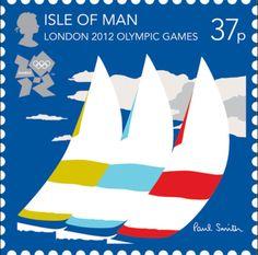 Sailing - London 2012 Olympics stams: Paul Smith
