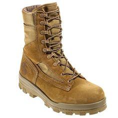 Bates Boots Men's 40501 USMC Olive Mojave EH Steel Toe Durashocks Hot Weather Boots