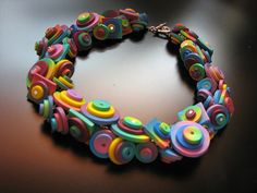 Necklace by Maria Theresia Bizai