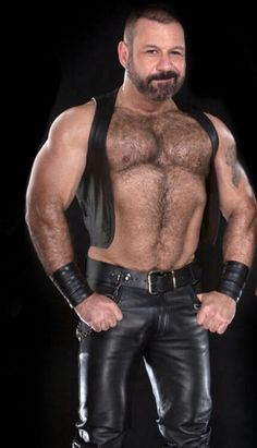 Gay porn muscle leather