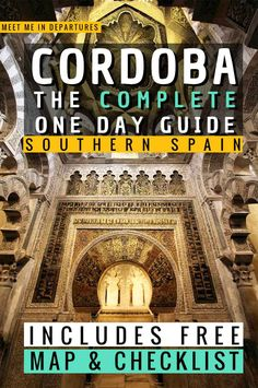 Seville to Cordoba Guide | Córdoba | Crodoba Travel Guide | Visiting Cordoba, Spain | Visit Cordoba| One day in Cordoba Itinerary | Day Trips From Seville | Southern Spain | Things to do in Cordoba | What to see in Cordoba | Two Days in Cordoba | Cordoba Aesthetic | Cordoba Mosque | Great Mosque of Cordoba | Mezquita de Cordoba | Mosque-Cathedral Cordoba | Patios de Cordoba | Cordoba Alcazar | #Spain #Cordoba #Andalucia Spain Travel Guide, Europe Travel Tips, Travel Usa, Travel Destinations, Travel Goals, Portugal Travel, Spain And Portugal, Cordoba Spain, Travel Reviews