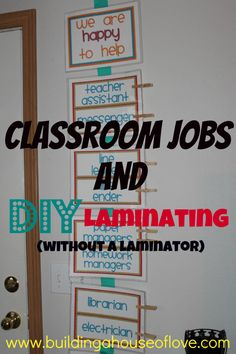 4th Grade Classroom Arrangement | Today I'm going to show you how to make your classroom jobs chart ...