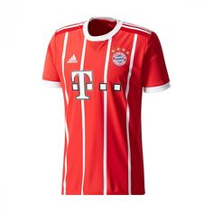 Home or away, it's FC Bayern Munich's field. This men's soccer jersey honors the team. Featuring an FC Bayern crest on the chest, th Fc Bayern Munich, Maillot Bayern Munich, But Football, Adidas Football, Cristiano Ronaldo, Manchester Fc, World Cup Jerseys, Champions Of The World, Soccer Gear