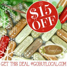 Get $15 OFF vitamins, oils & products for your #health with this #deal from Sassafras Health Foods plus a $2 #donation to your favorite local school or cause! <3 #gowhitebearmn #livehealthy http://www.gobuylocal.com/offerseo/White_Bear_Lake-MN/Sassafras_Health_Food_Store/2311/404/
