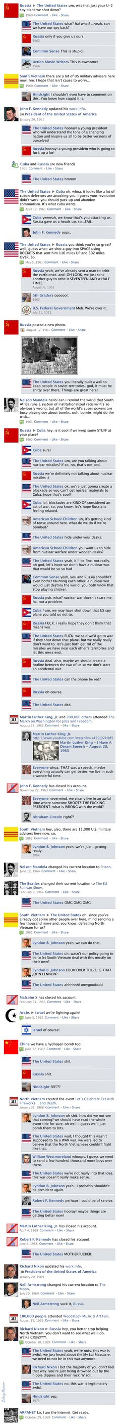 Facebook Newsfeed History - 1960s