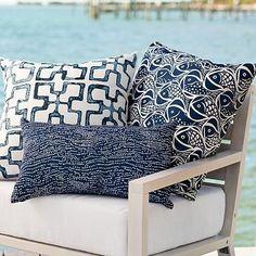 Outdoor Snapper Pillow