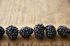 Check out A Row of Blackberries by More Than Cake on Creative Market