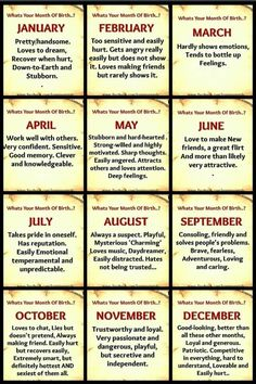 November ... on point but as for dangerous lol oooook