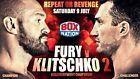 #Ticket  Wladimir Klitschko vs. Tyson Fury II  Ticket-Schnäppchen  DIREKT AM RING! #Ostereich