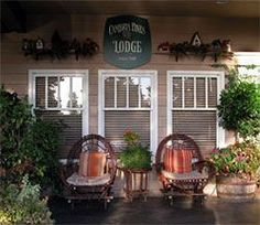 Cambria Pines Lodge on the central coast of California, I miss working here! Great Places, Places Ive Been, Places To Go, Cambria California, Moonstone Beach, San Simeon, Backyard, Patio, Hotel Spa