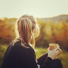 Just grab a cup of tea and go outside and enjoy life.