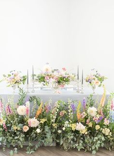 Lush Garden Wedding Inspiration - Inspired by This Cheap Wedding Flowers, Bridal Flowers, Floral Wedding, Orange Wedding, Wedding Flower Arrangements, Wedding Centerpieces, Wedding Decorations, Table Decorations, Table Centerpieces