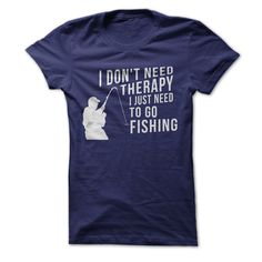 Let everyone know you're doing just fine in this snazzy, comfortable and informative T-shirt. Therapy? No. You aren't acting like you need therapy. Anyone who knows you is well aware of the fact that