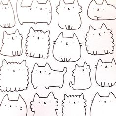 Pusheen Coloring Pages Cartoon Coloring Pages