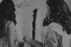 Carmen Soto The Bride | Atelier de vestidos de novia | Novias en el Atelier. Silvia | http://www.carmensotothebride.com