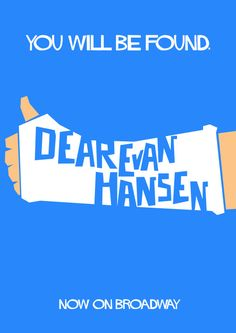 Updated Dear Evan Hansen design.