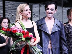 Alan Cumming and the cast of CABARET welcome Sienna Miller to the Kit Kat Klub