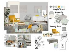 Our super talented #IDIstudent Amy Kirkwood has created this beautiful hand sketch and series of mood boards for her assignment submission, during our online Diploma of Interior Design course. You can view more of Amy's work via: http://scarletandfern.co.uk Scarlet & Fern - Bespoke Lampshades