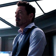"Look at those arm muscles. (Tony Stark, ""Civil War"")"