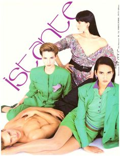 1988 Istante Gail Elliott Italy Italian Print Ad Advertisement Vintage VTG 80s | eBay