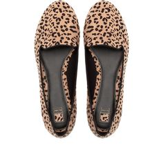 00557ccbeaa363 Pull   Bear Leopard Print Loafers ( 16) ❤ liked on Polyvore featuring shoes